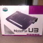 Chladící podložka Coolemaster NotePal U3