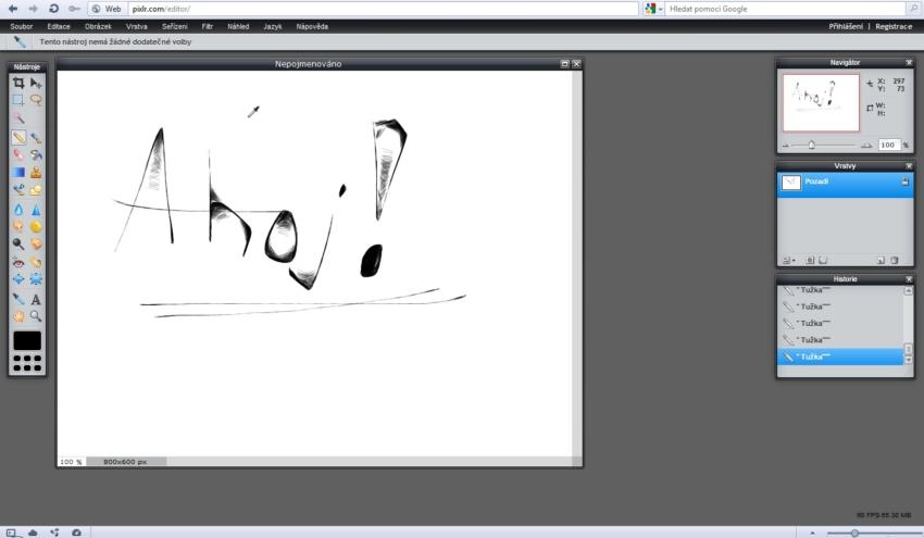 Pixlr - grafický editor online