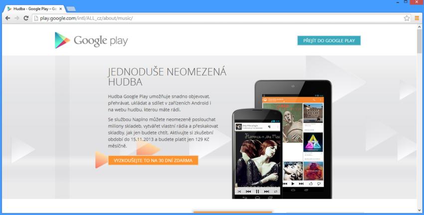 Google Play konečně spuštěn v ČR
